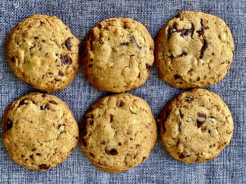 Chocolate chip cookies 1/2 dz