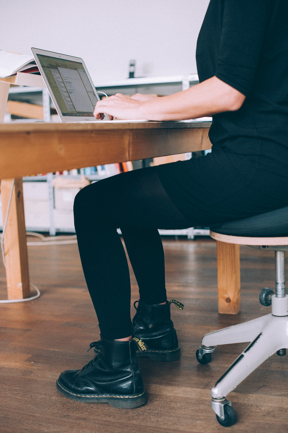 Sporty Office Posture