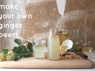 Workshop: Make Your Own Ginger Beer!