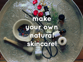 Workshop: Make Your Own Natural Skincare!