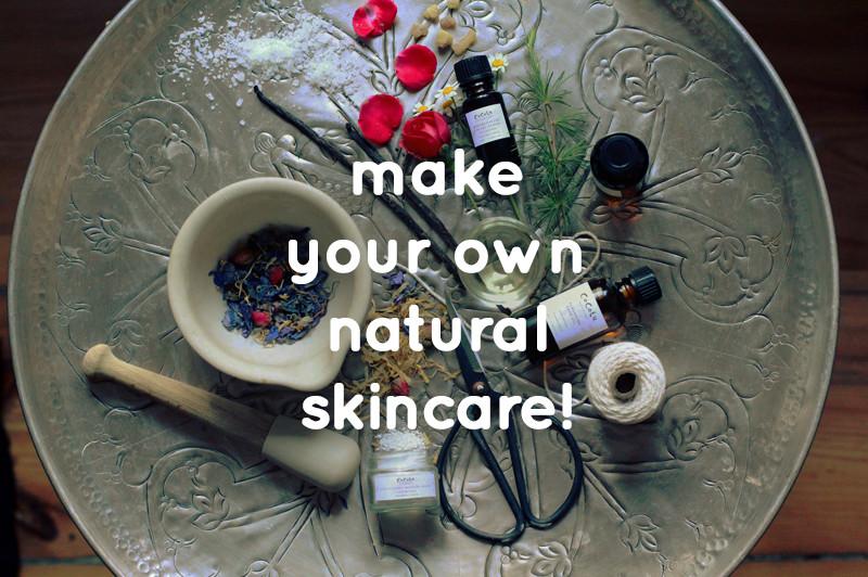 Workshop: make your own natural skincare