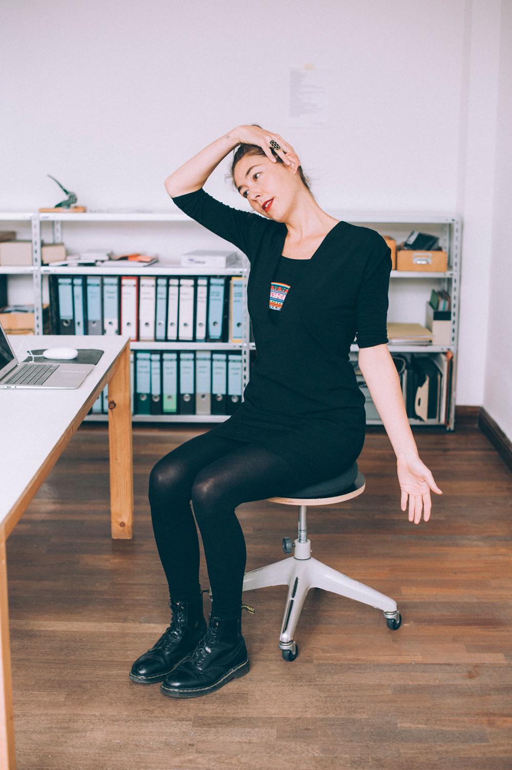 Sporty Office Neck Stretch