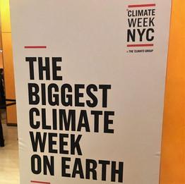 Climate Week NYC 2019