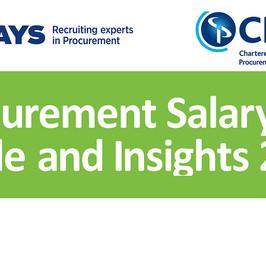 Gender disparity and the procurement profession