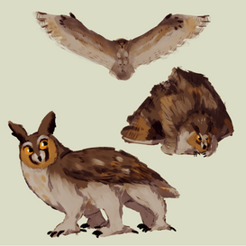 Six-Legged Owl