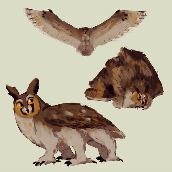 Six-Legged Owl