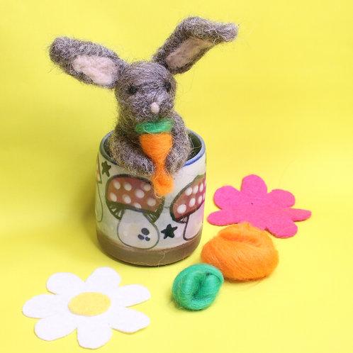 Bunny Felting Kit