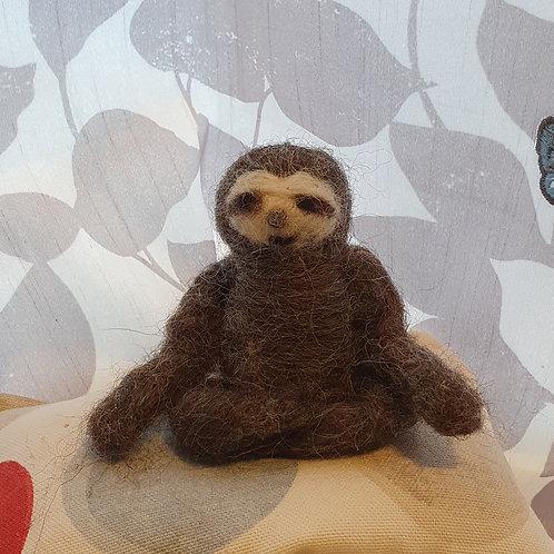 Private Sloth Felting Workshop
