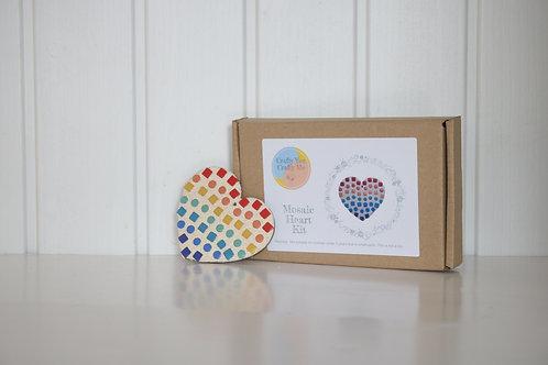 Rainbow Heart Craft Kit