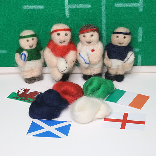 Rugby Needle Felting Kit