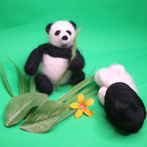 Panda Needle Felting Kit