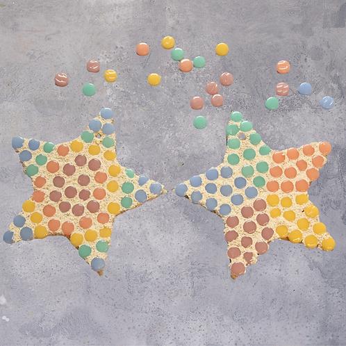 Stars Mosaic Craft Kit - Decoration