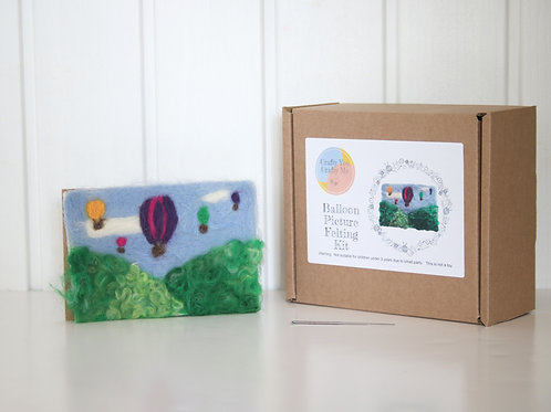 Balloon Needle Felting Craft Kit