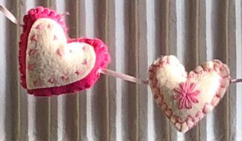 Felt Heart Sewing Kit