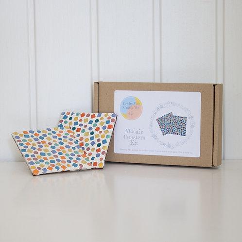 Mixed Mosaic Coaster Craft Kit