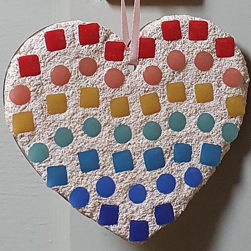 Mosaic Heart Gift