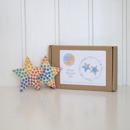 Rainbow Star Mosaic Craft Kit