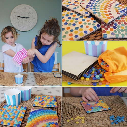 Mosaic Coasters Party Pack