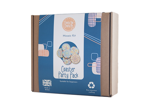 Mosaic Coasters Party Pack - Round