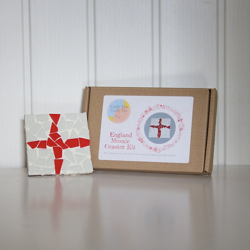 England Mosaic Coaster Kit