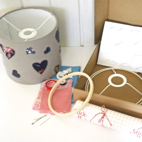 Heart Lampshade Craft Kit Gift for Her
