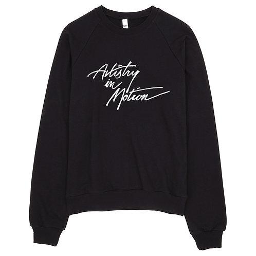 AIM Unisex California Fleece Raglan Sweatshirt