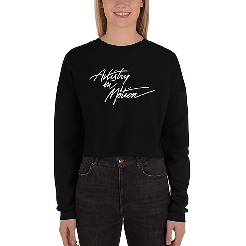 AIM Crop Sweatshirt