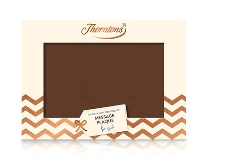 Personalised Thorntons Plaque