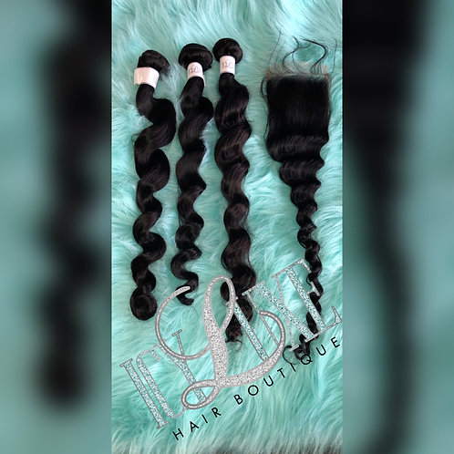 Mink New Loose Wave Bundle Deal