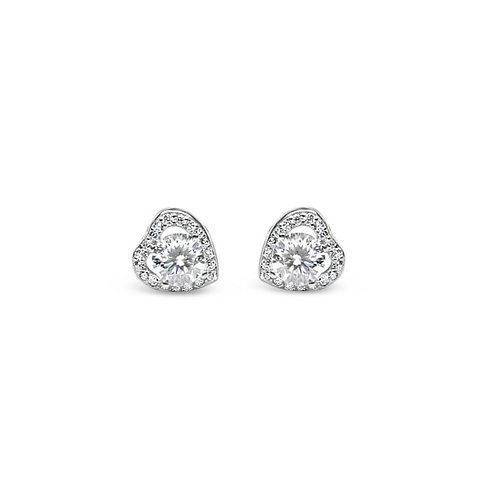 Moissanite earrings (1.2ctw)