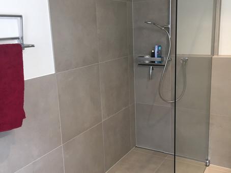 ... und wieder ist ein Badezimmer fertig!