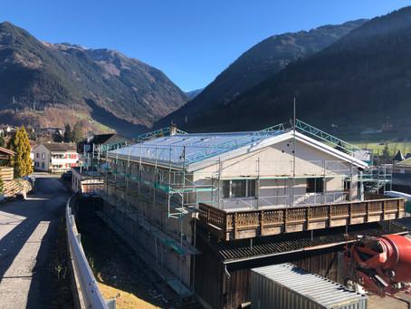 Komplette Dachsanierung vor dem Winter