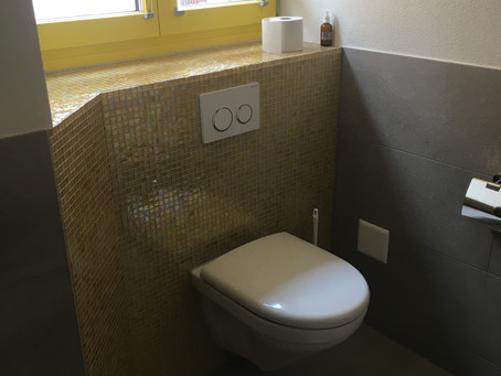 Neues Bad auf engstem Raum...