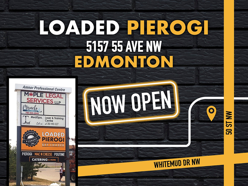 Loaded Pierogi - Loaded Pierogi is a fast food restaurant with a unique food menu that has turned traditional pierogi, mac n' cheese, and poutine into savoury dishes for Canadians.