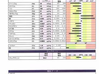 UEE(尿必須ミネラル検査)の重要性
