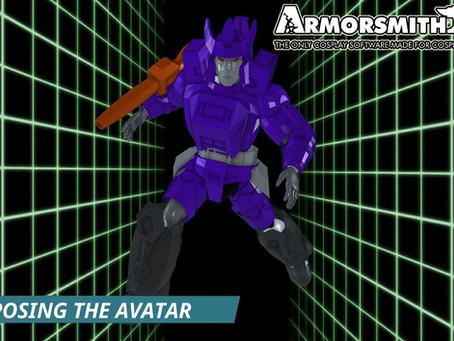 Posing the Armorsmith Avatar