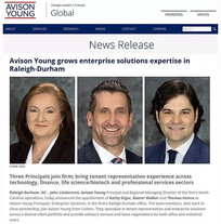 We Have Moved! Colliers Team Join Avison Young as Principals