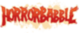 This image is the HorrorBabble logo