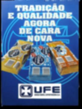 Cartaz de lançamento das novas embalagens.