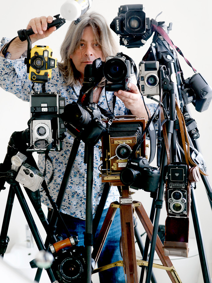 Self Portrait with Cameras