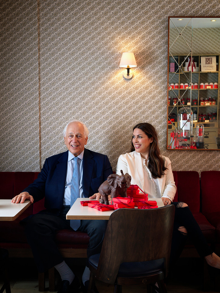 Sir Evlyn & Jessica De Rothschild for The Telegraph Magazine