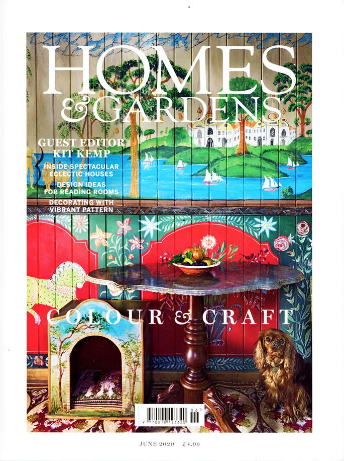 Kit Kemp, Homes & Gardens Cover June 2020