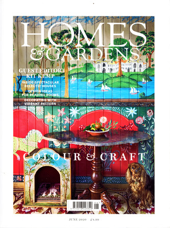 Kit Kemp, Homes & Gardens Cover June 202