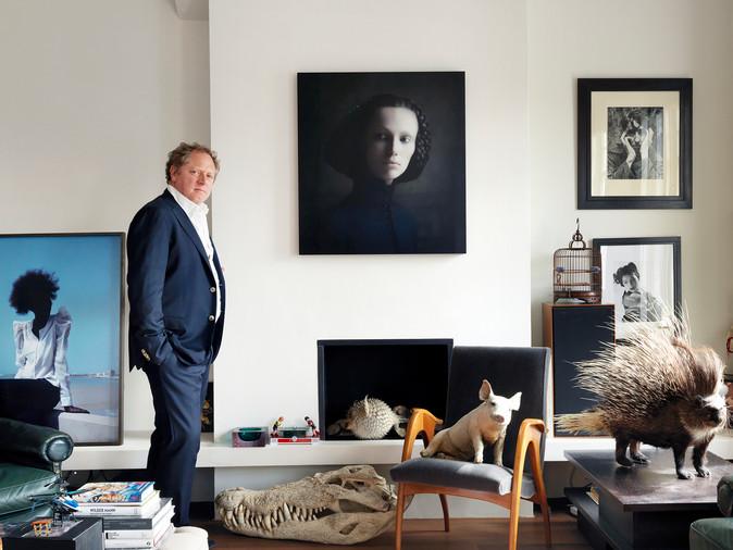 MichaelHoppen, Photography Gallerist, Telegraph Magazine