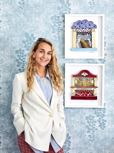 Ruby Kean, Design Team at Firmdale Hotels