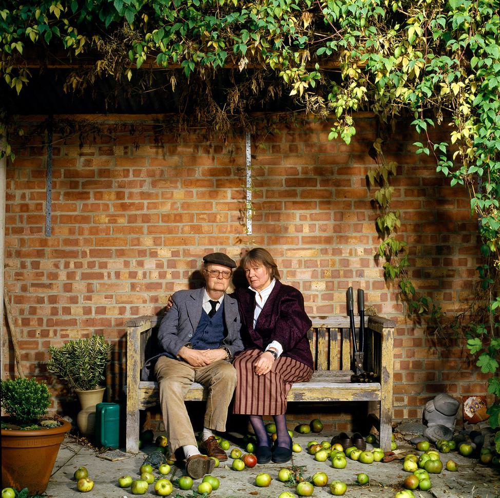 Iris Murdoch & John Bayley