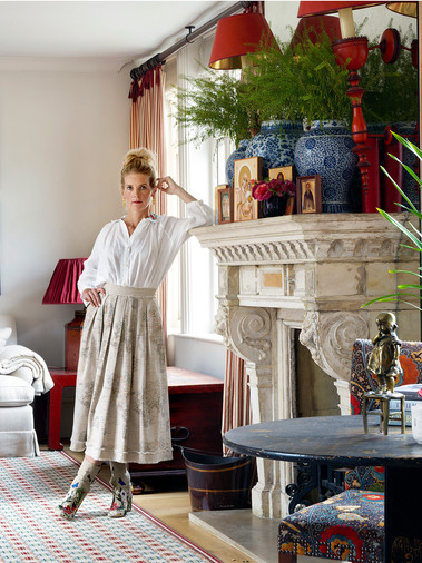 Alexandra Tolstoy for House & Garden
