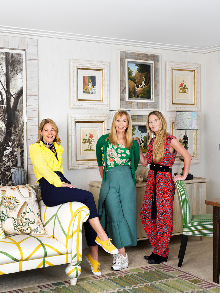 KitKemp with daughters Min & Willow, Firmdale Hotels