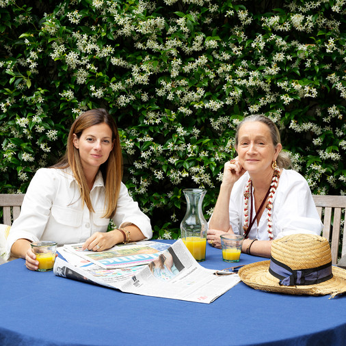 Zara Home Guests   Lucinda Chambers & Serena Hood of Collagerie