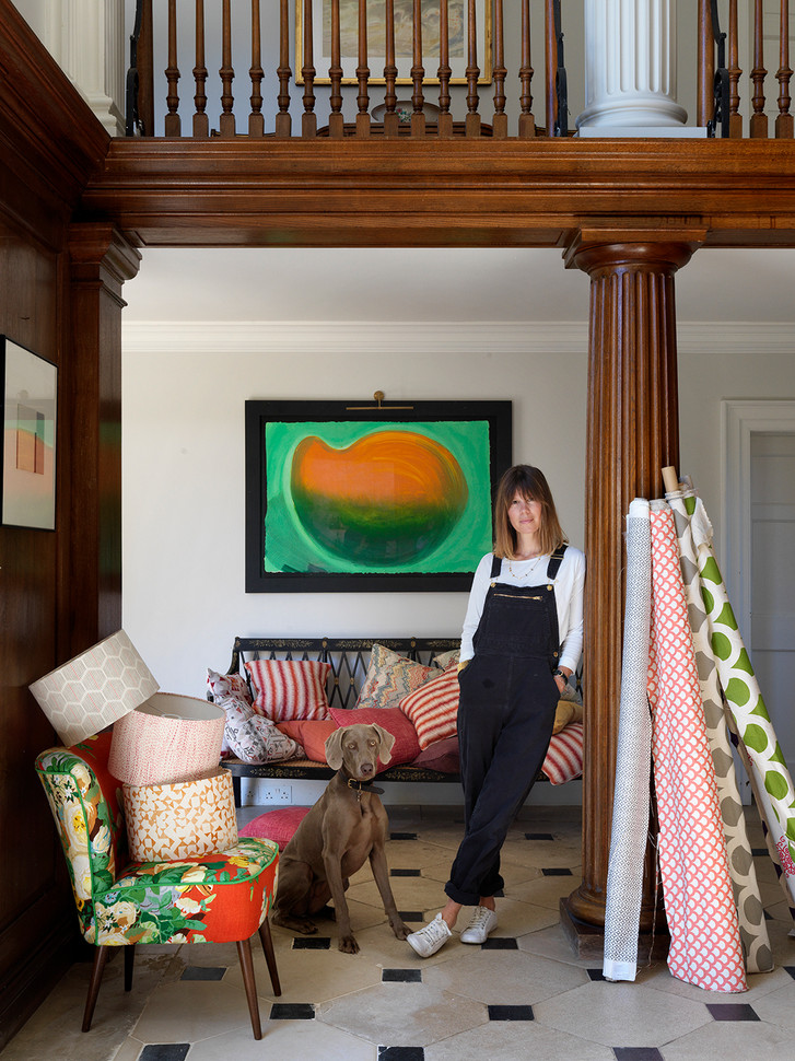 Jane Bonsor, founder and Creative Director of Korlafor for Country Life